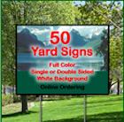Digital Full Colour Coroplast Signs